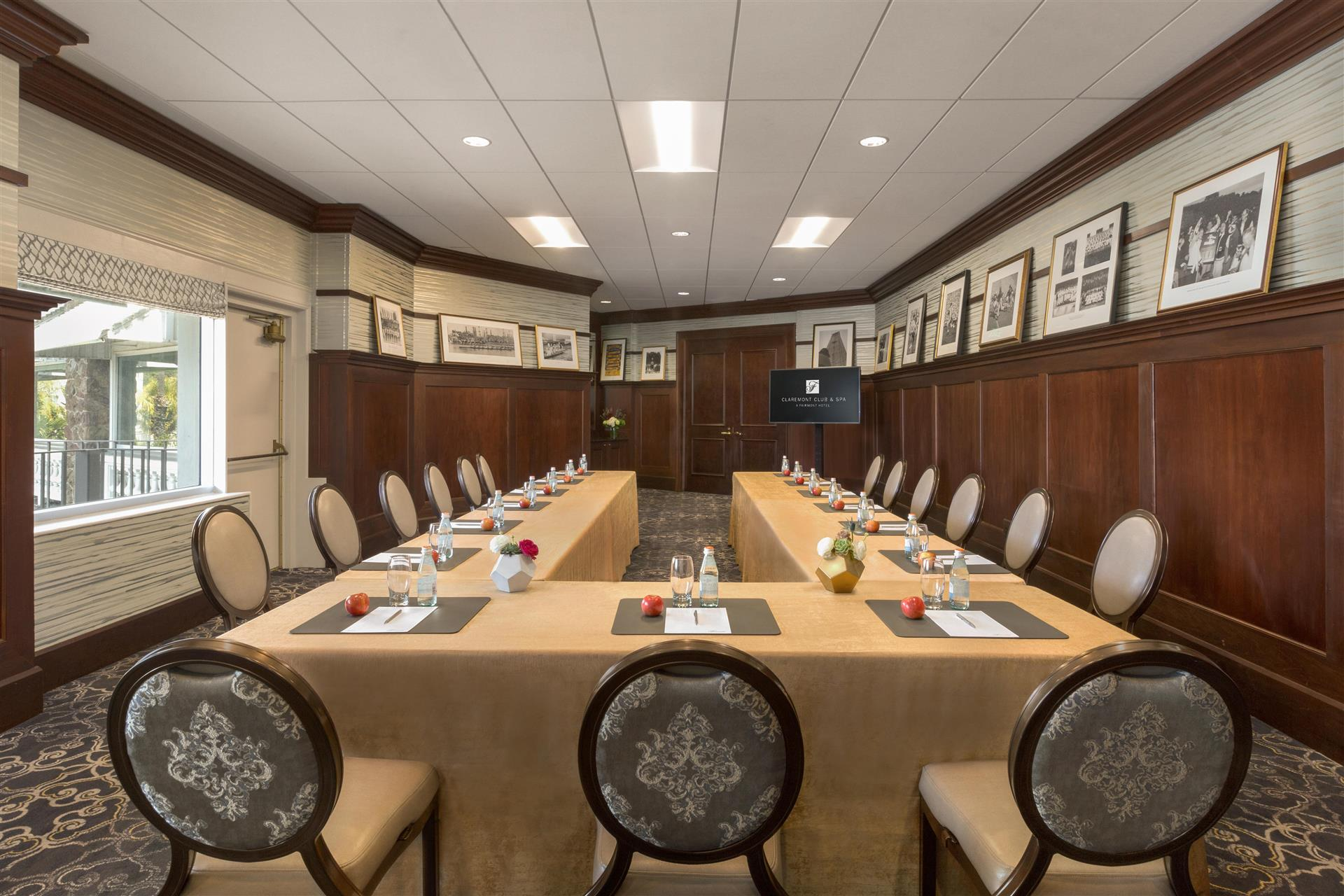 Alumni Room event space at Claremont Hotel Club & Spa in Bay Area