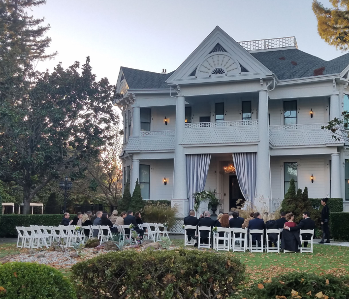 Front Grounds event space at White House Inn in San Francisco, SF Bay Area, San Fran