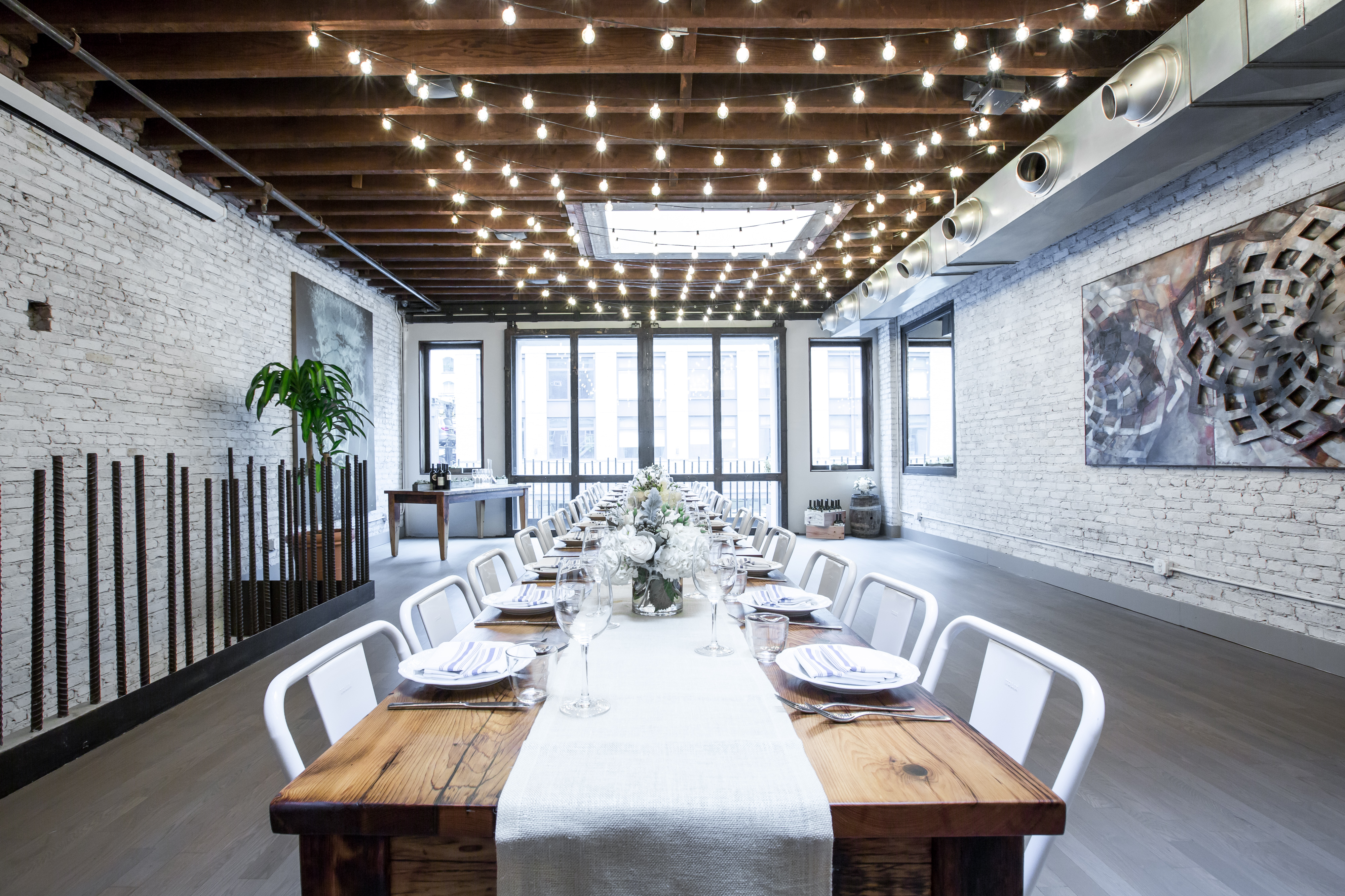Photo #13 Upstairs Dining Room  at landmarc [tribeca]