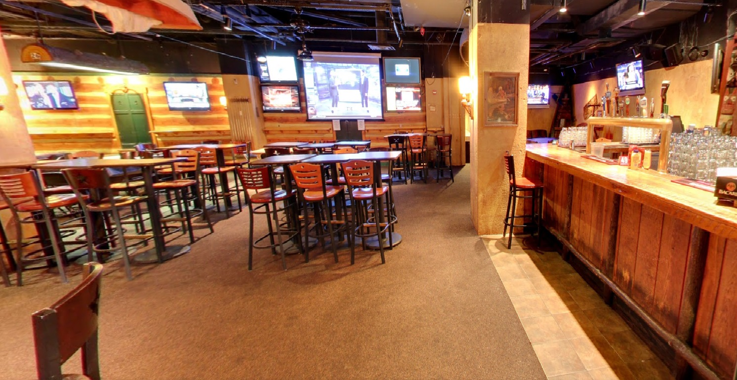 Adirondack Room event space at Buffalo Billiards in Washington DC, Maryland, Virginia, DC Area