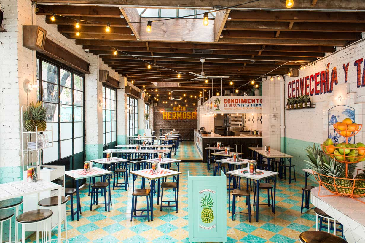 Full Buyout event space at Tacombi Bleecker in New York City, NYC, NY/NJ Area
