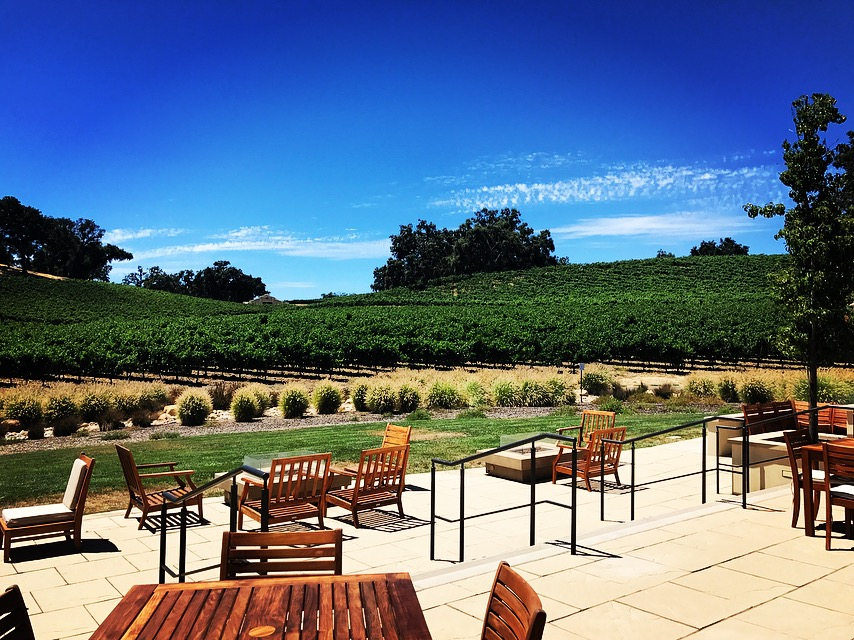 Photo #8 Terrace Patio at Justin Vineyards and Winery