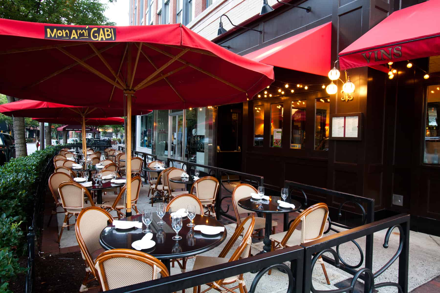 Photo #3 Seasonal Patio at Mon Ami Gabi Bethesda
