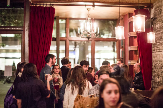 Taverna Aventine event space in San Francisco, SF Bay Area, San Fran