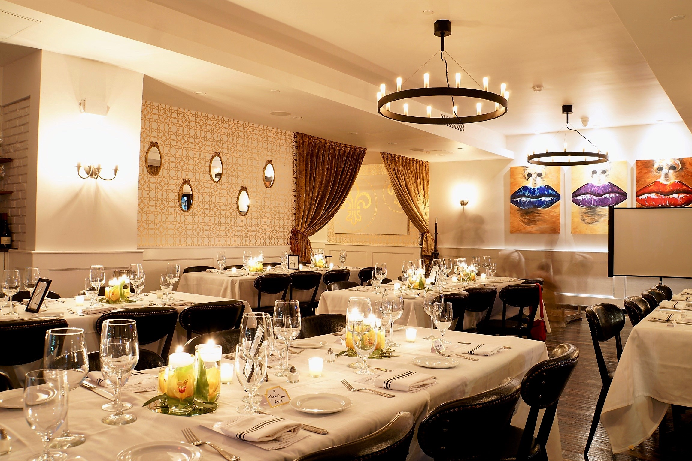 Main Room event space at Copinette in New York City, NYC, NY/NJ Area