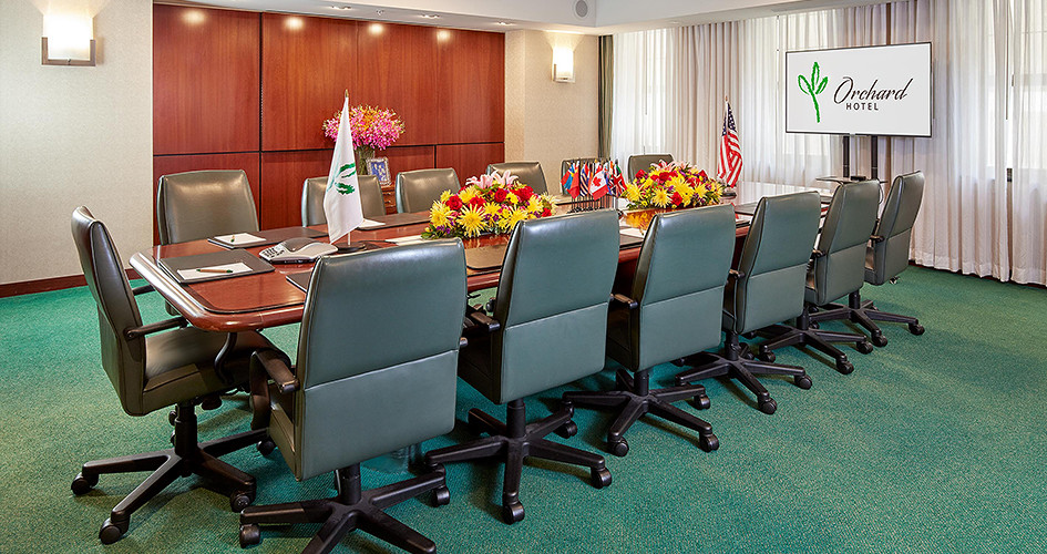 Photo #4 EXECUTIVE BOARDROOM at Orchard Hotel