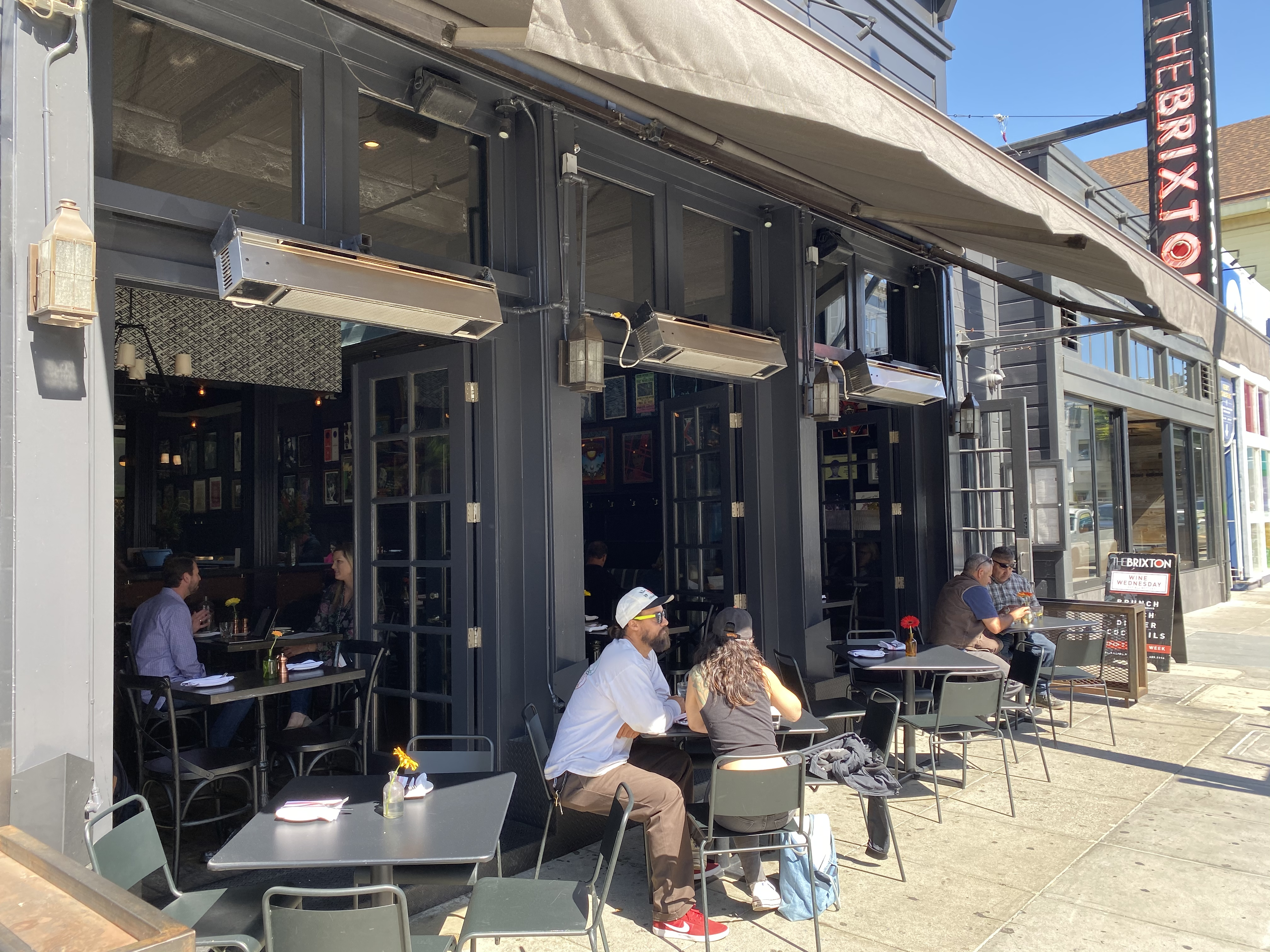 Photo #3 Cafe & Patio at The Brixton on Union