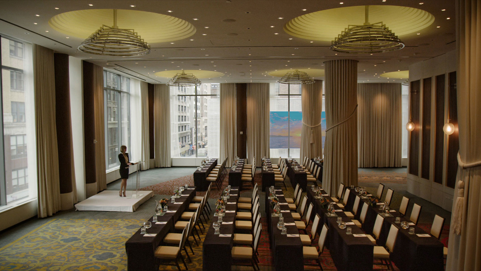Ventana Ballroom event space at Kimpton Hotel Eventi in New York City, NYC, NY/NJ Area