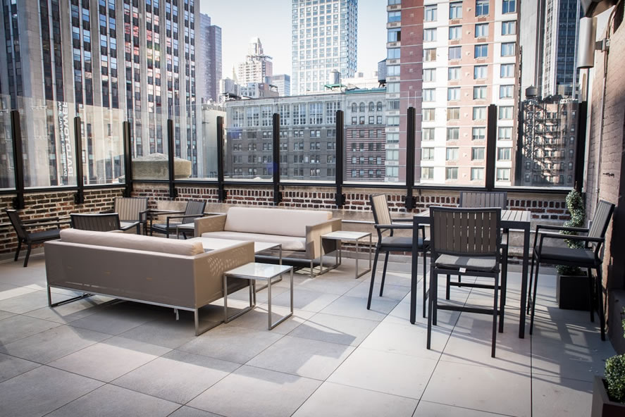 Jay Suites Roof Top Main Space event space at Jay Suites Roof Top in New York City, NYC, NY/NJ Area