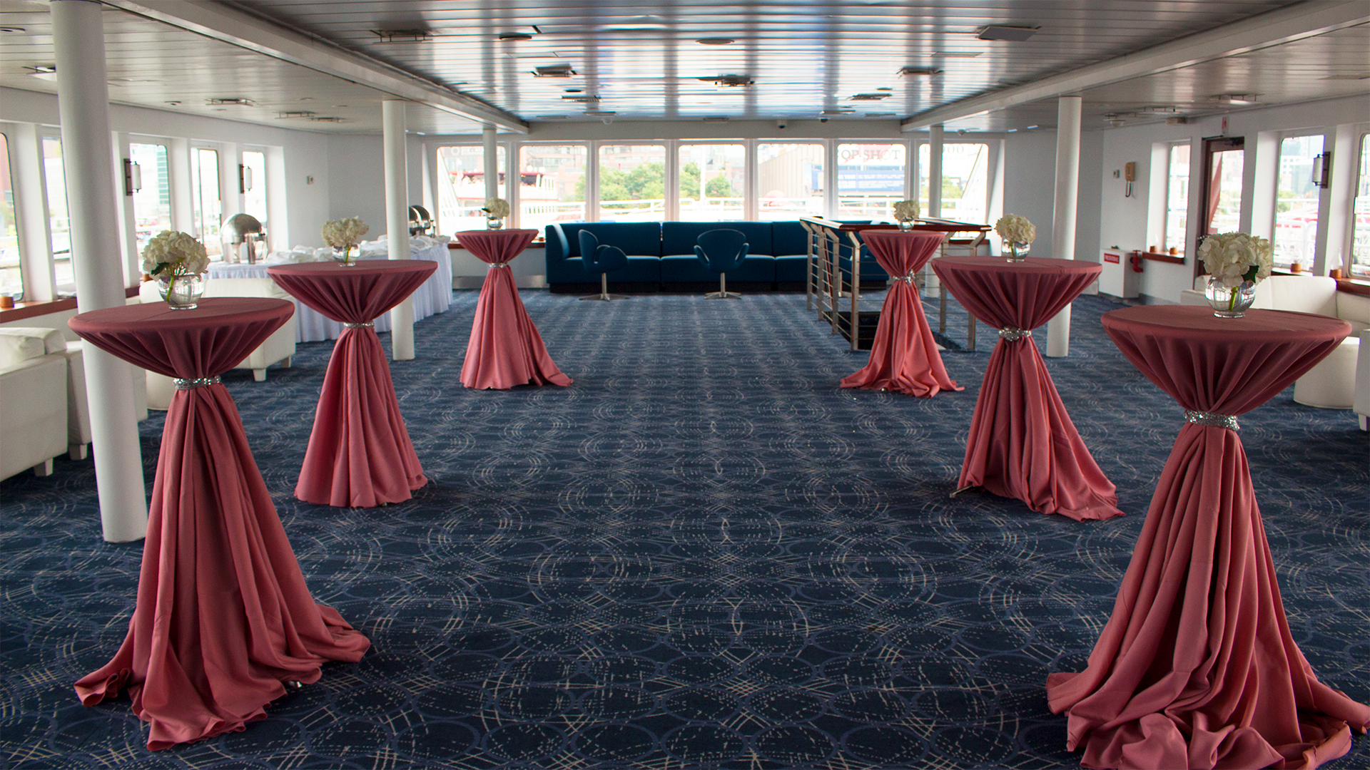 Duchess event space at World Yacht in New York City, NYC, NY/NJ Area
