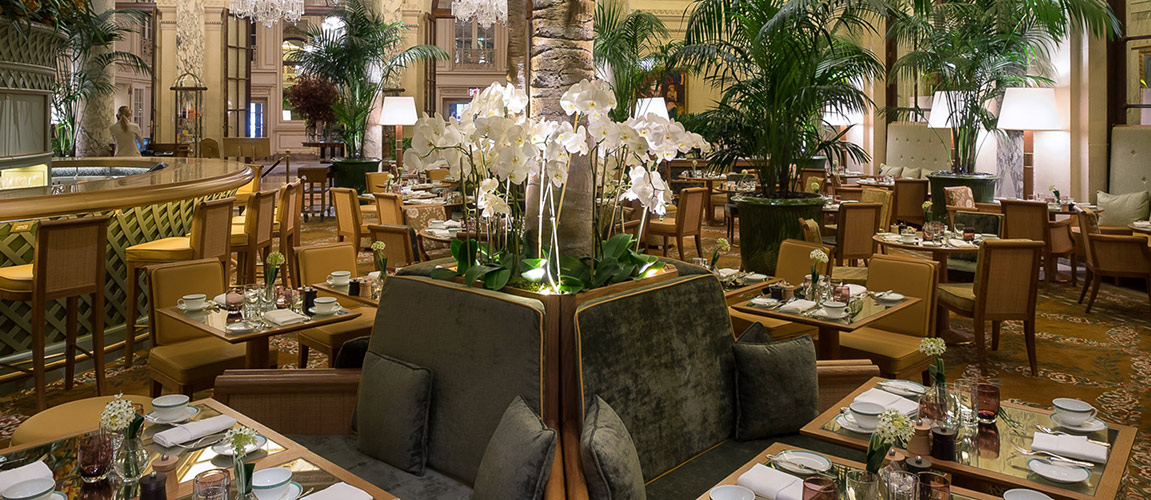 Photo #3 Semi Private Dining at The Palm Court at The Plaza Hotel