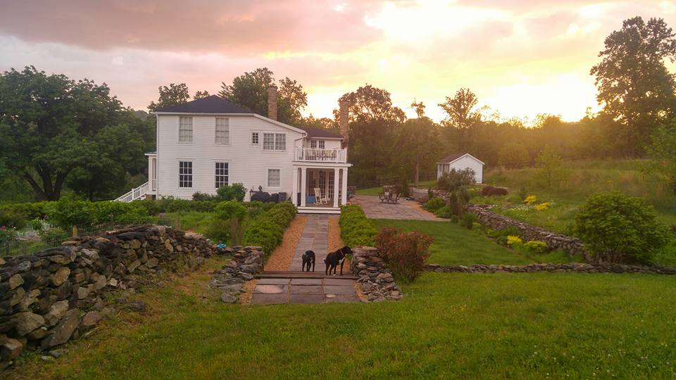 Indoor/outdoor common spaces event space at Black Dog Farm Inn at Mt. Welby in Washington DC, Maryland, Virginia, DC Area