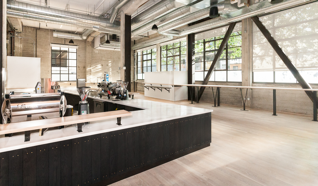 Cafe event space at Galvanize in San Francisco, SF Bay Area, San Fran