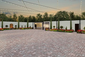 Courtyard event space at Victory North in New York City, NYC, NY/NJ Area