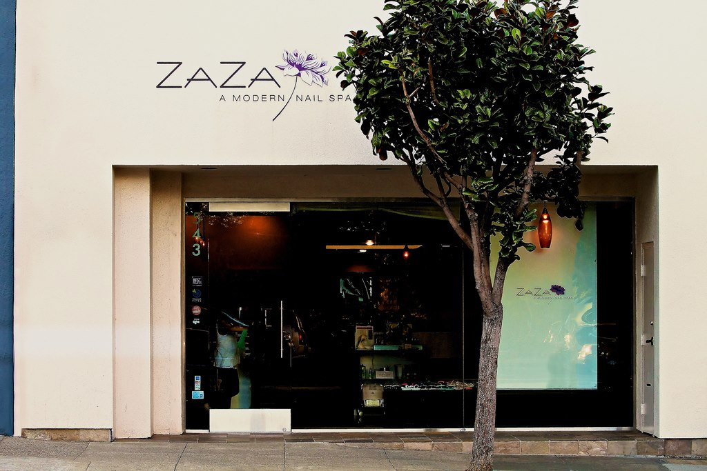 Private Party event space at ZAZA Nail and Wine Lounge in San Francisco, SF Bay Area, San Fran