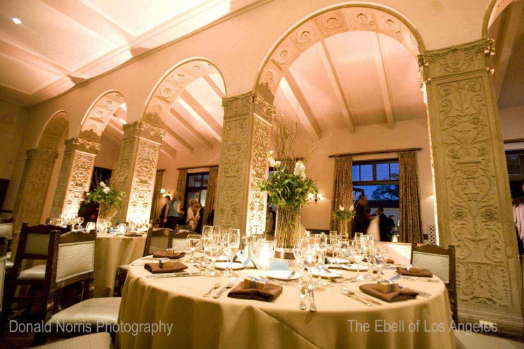 Dining Room event space at Ebell of Los Angeles in California