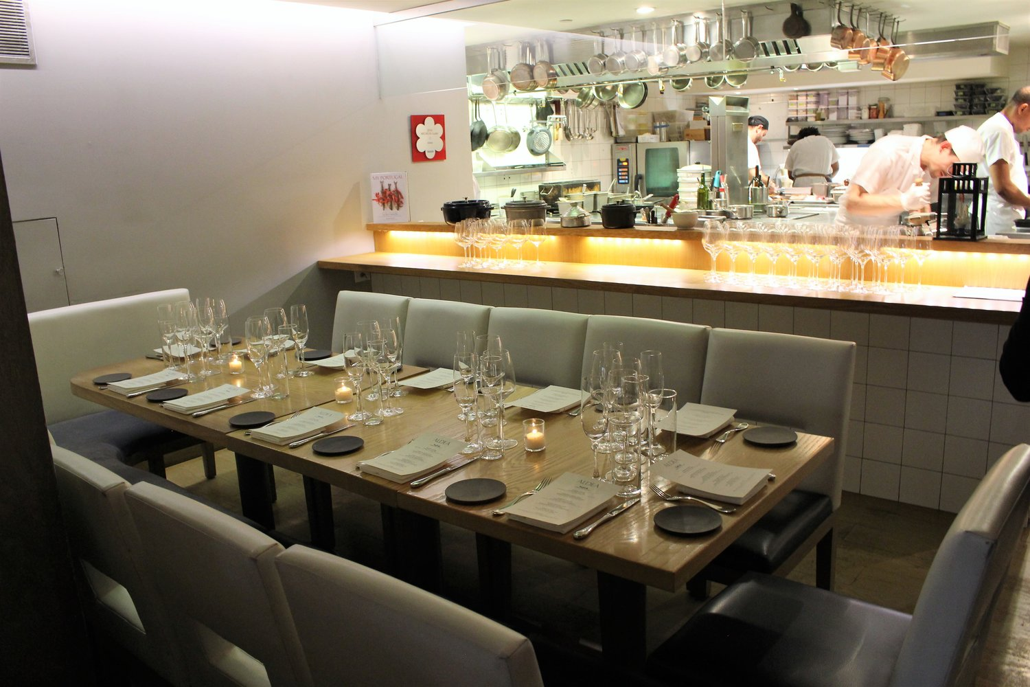 Photo #6 Chef's Area at Aldea