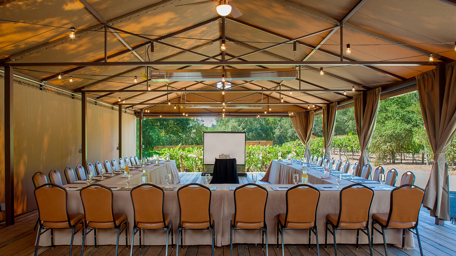 Photo #5 Vineyard Venue at Calistoga Ranch Resort