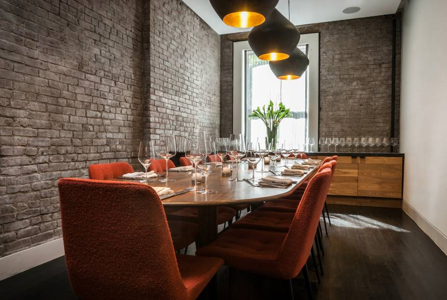 Private Dining Room event space at Charlie Bird in New York City, NYC, NY/NJ Area