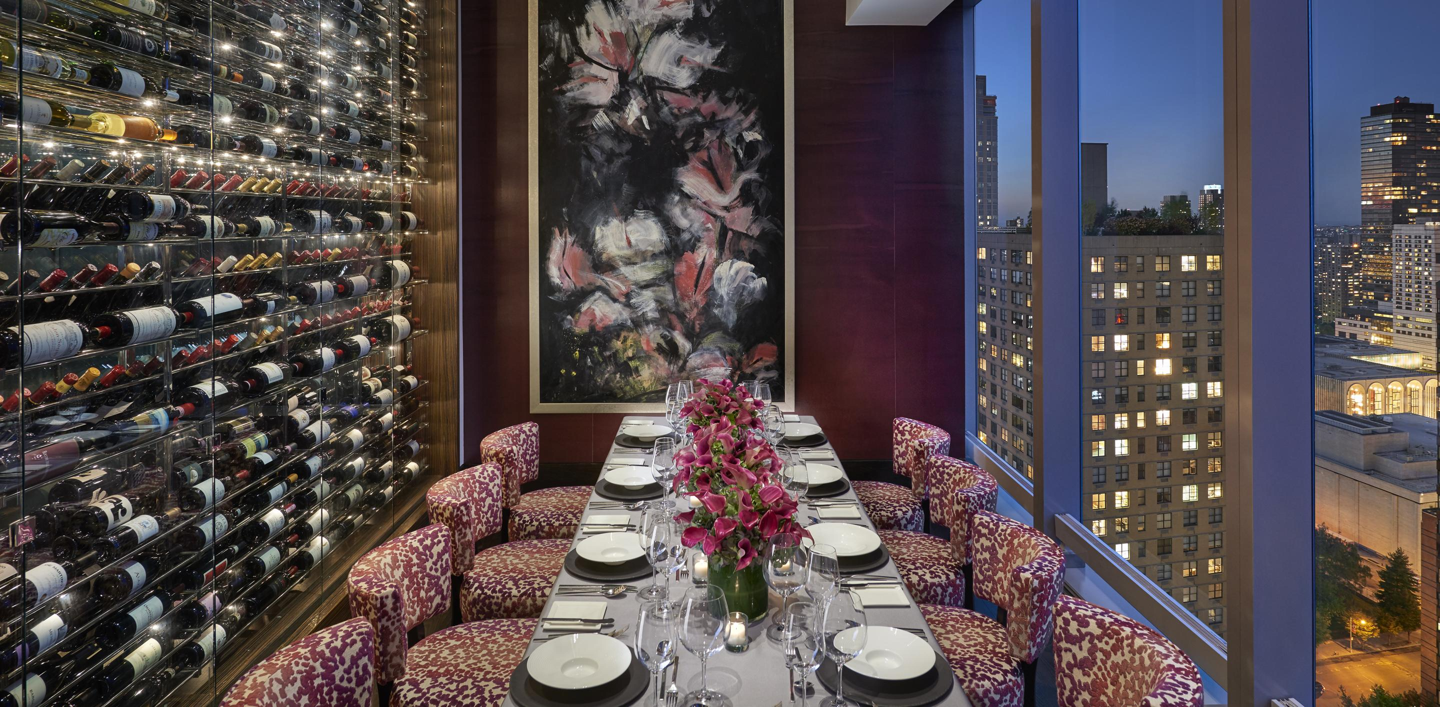 Photo #2 Private Dining Room at Asiate at Mandarin Oriental, New York