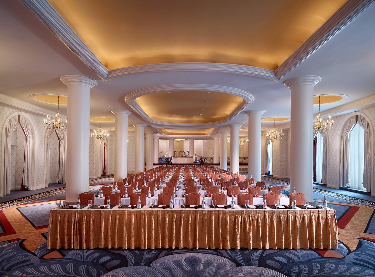 Ambassador Ballroom event space at Omni Shoreham Hotel in Washington DC, Maryland, Virginia, DC Area
