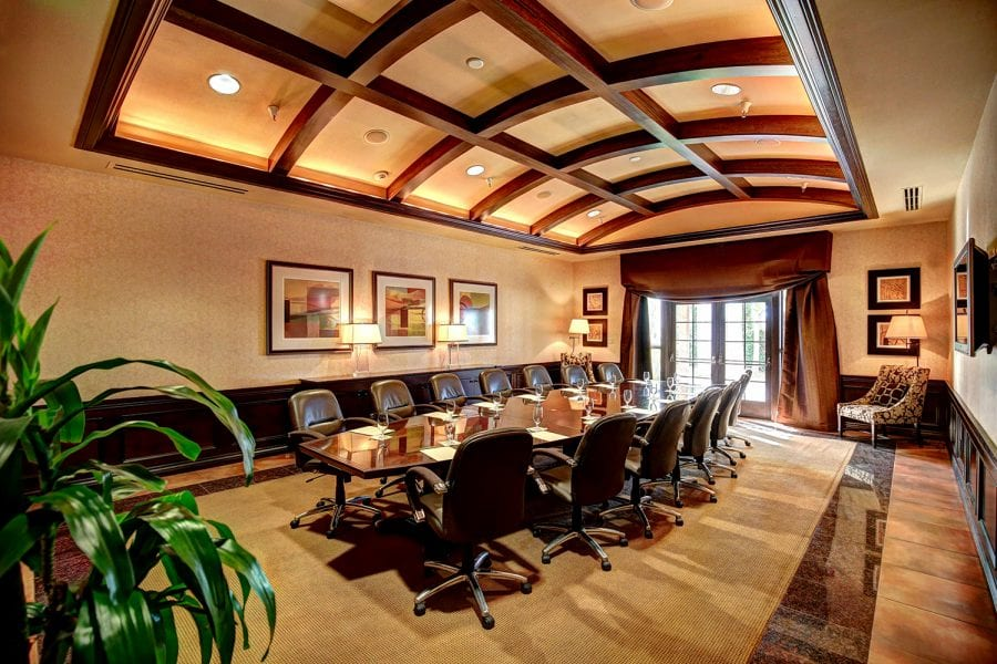 Executive Boardroom event space at Vintners Inn in San Francisco, SF Bay Area, San Fran