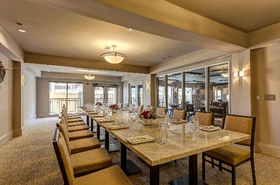 Private Dining Room event space at Toll House Hotel in San Francisco, SF Bay Area, San Fran