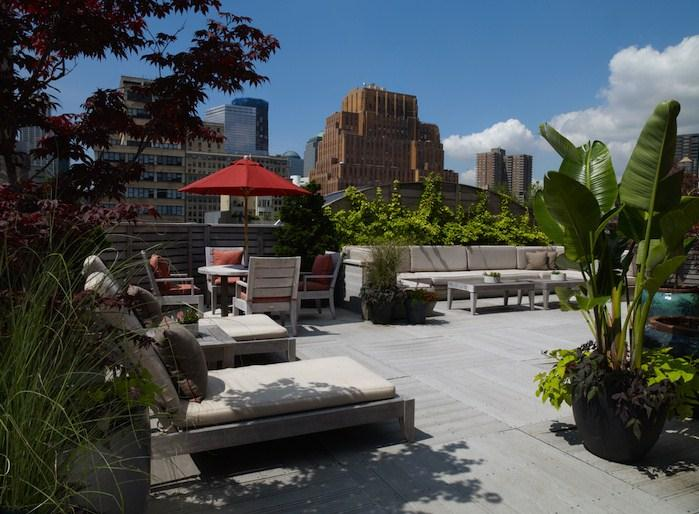 Photo #3 Rooftop Terrace at The Roxy Hotel