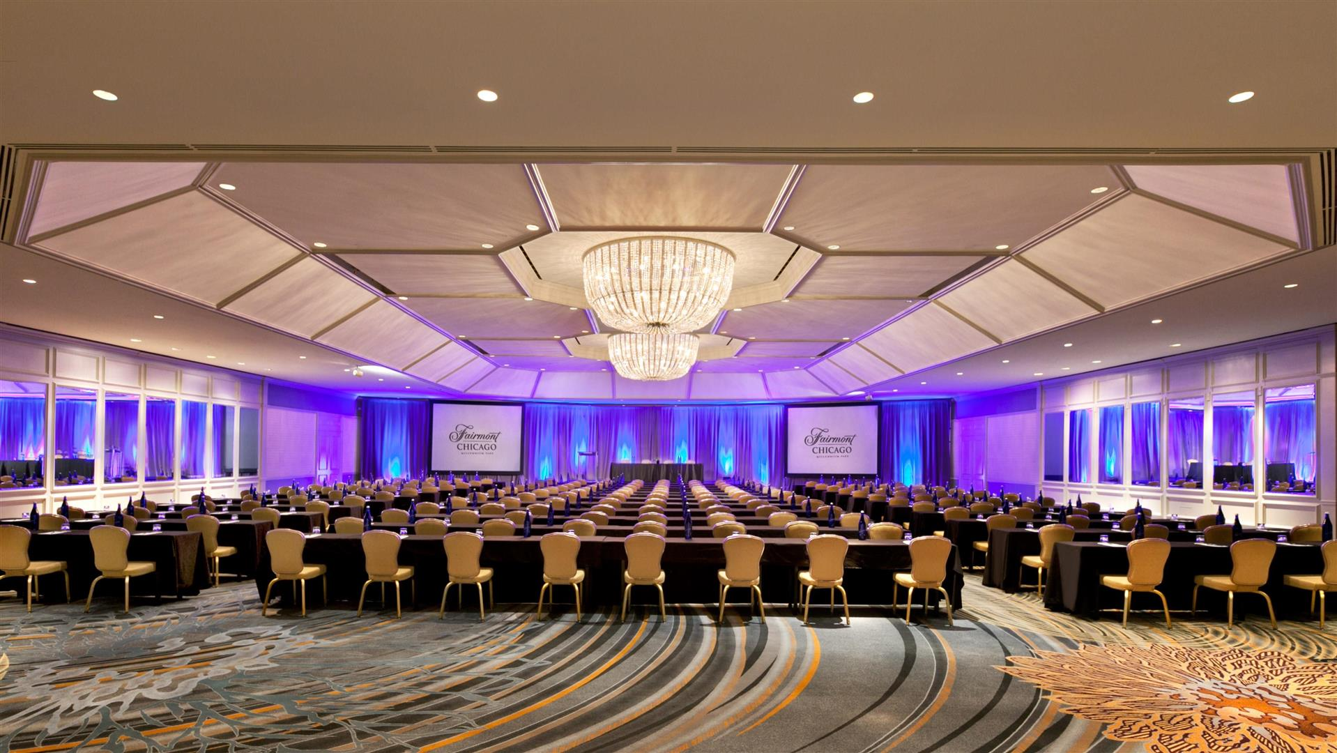 Photo #2 INTERNATIONAL BALLROOM	 at Fairmont Chicago - Millennium Park