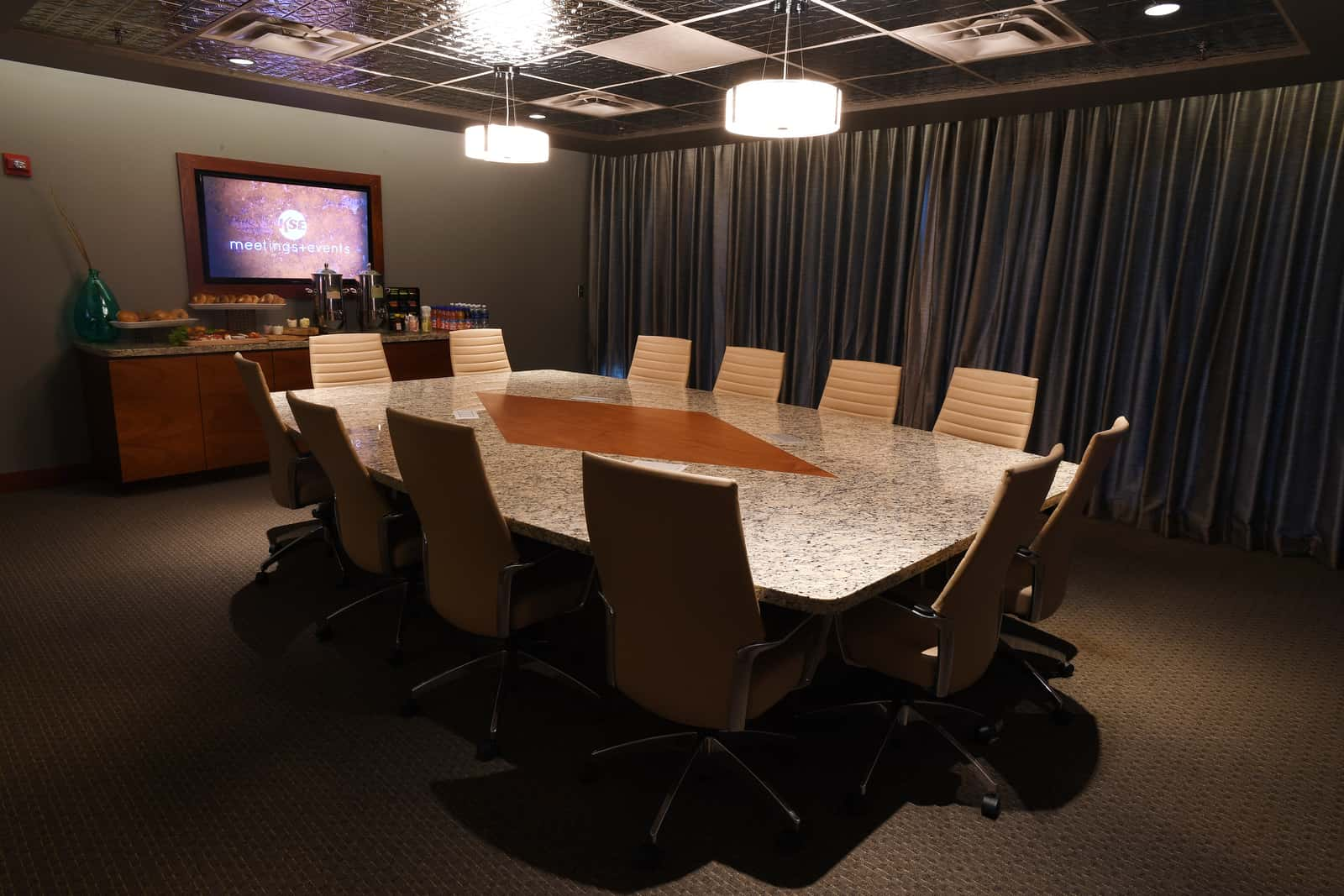 Photo #3 K Executive Boardroom at Pepsi Center