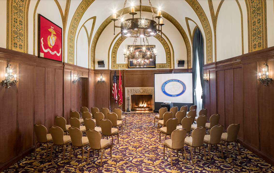 Photo #4 Regimental Room at Marines Memorial Club