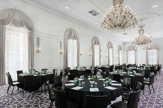 Fitzgerald Ballroom event space at Stewart Hotel in New York City, NYC, NY/NJ Area