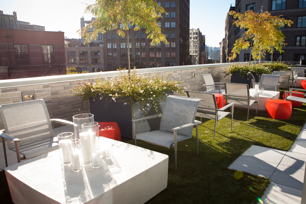 Photo #9 5th Floor Event Space and Terrace with Rooftop Herb Garden at Michael Kors Building at God's Love We Deliver