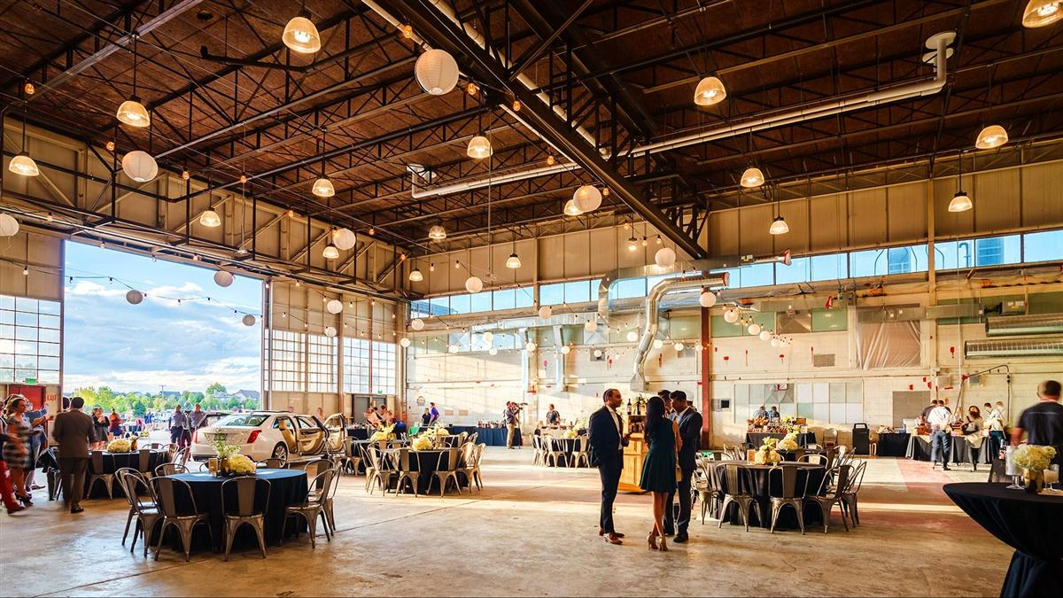 Photo #3 Entire Event Space at The Hangar - Stanley Marketplace