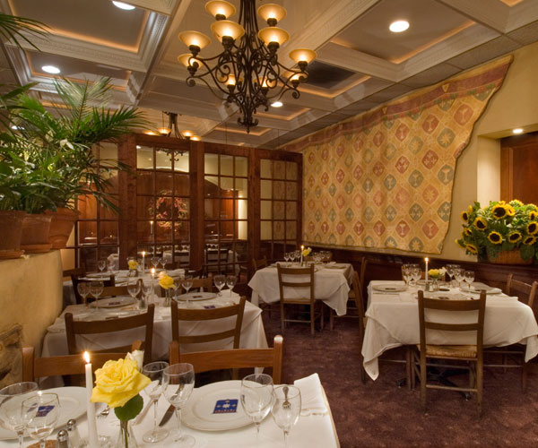 Tuscan Palm Room event space at i Ricchi in Washington DC, Maryland, Virginia, DC Area