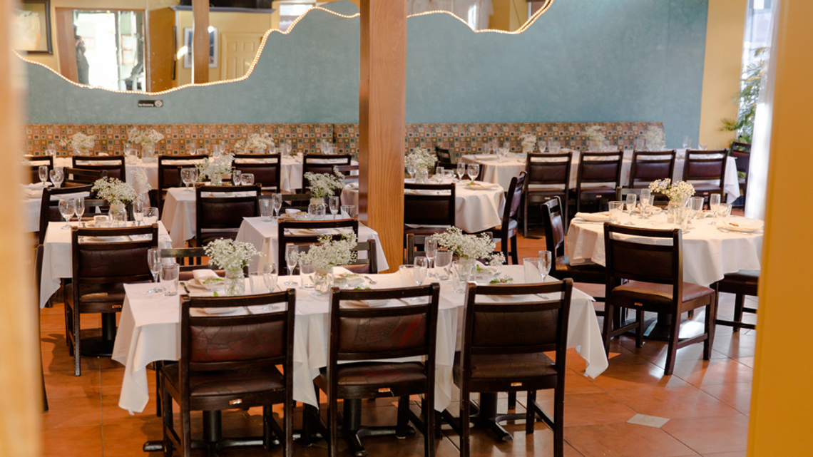 Victoria Room event space at The Grill from Ipanema in Washington DC, Maryland, Virginia, DC Area