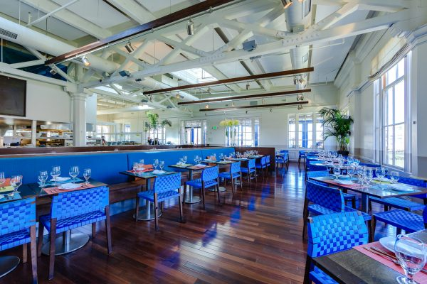 Entire Venue event space at La Mar in San Francisco, SF Bay Area, San Fran