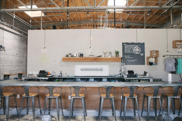 Brewery & Event Hall  event space at Camino Brewing Co. in San Francisco, SF Bay Area, San Fran
