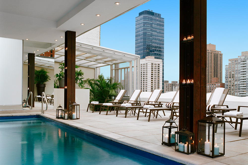 THE POOL DECK event space at Empire Hotel in New York City, NYC, NY/NJ Area