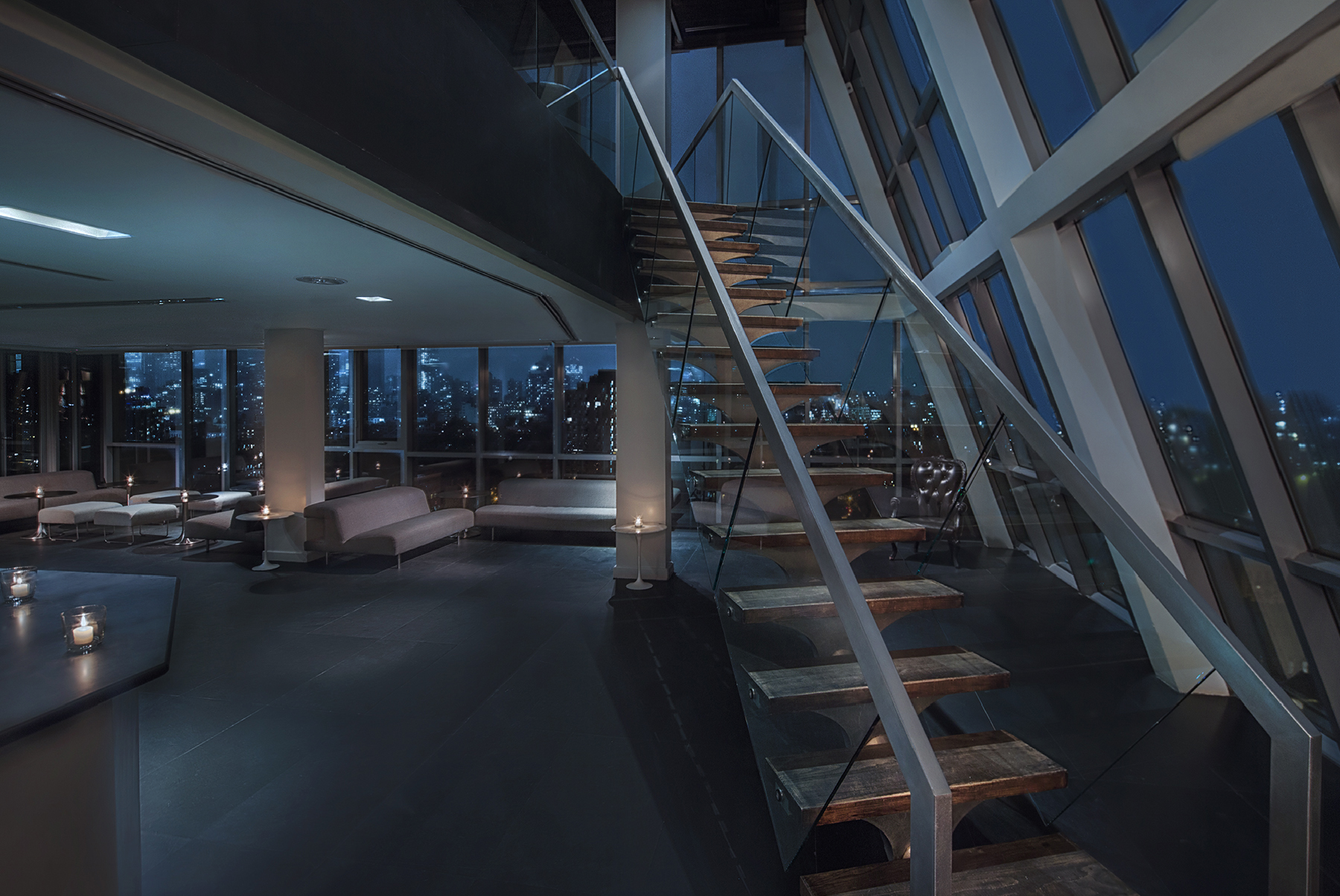 Penthouse event space at Hotel on Rivington in New York City, NYC, NY/NJ Area