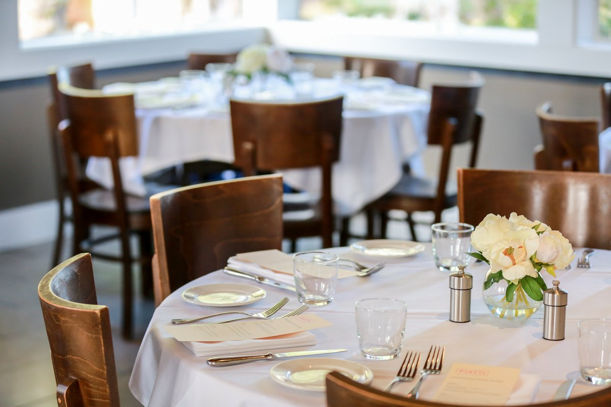Bay View Room event space at Piatti - Mill Valley in Washington DC, Maryland, Virginia, DC Area