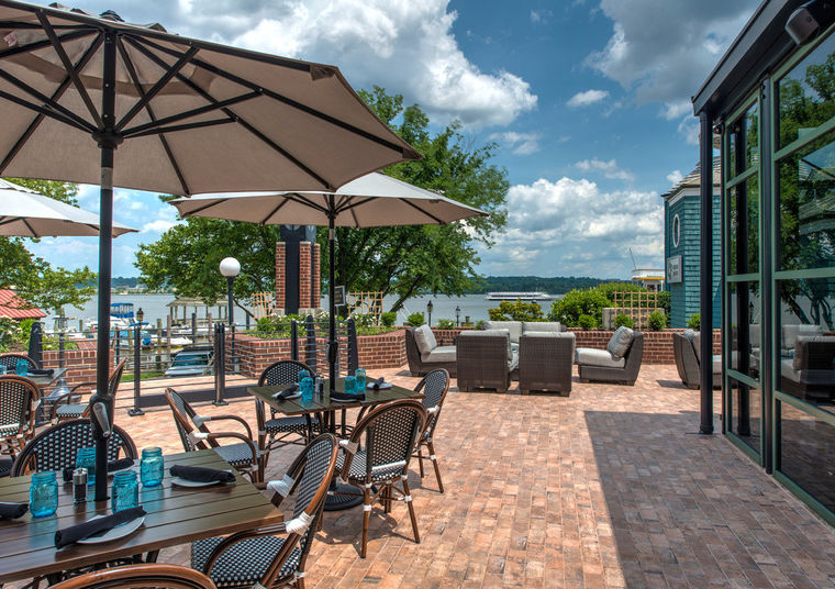 The Potomac Patio event space at The Blackwall Hitch Alexandria in Washington DC, Maryland, Virginia, DC Area