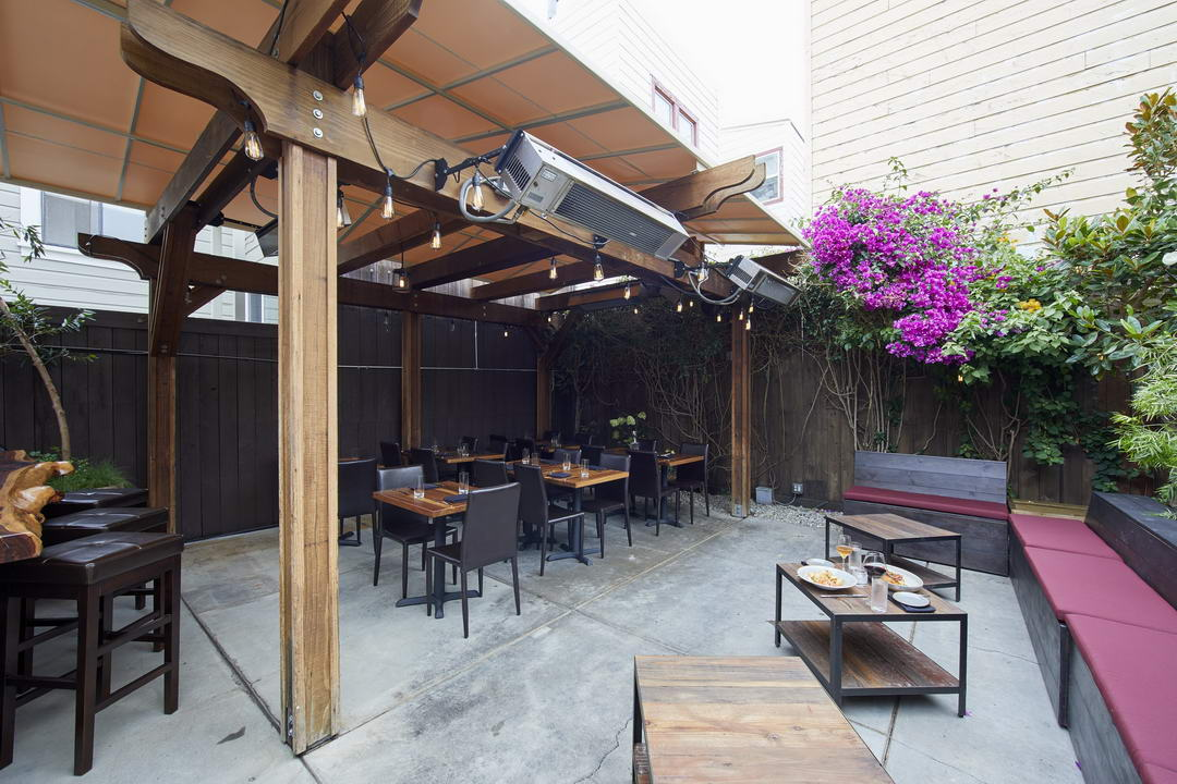 The Patio event space in San Francisco, SF Bay Area, San Fran