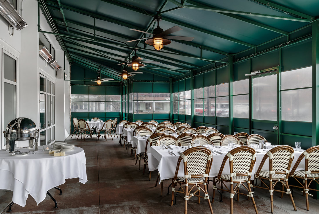 Atrium event space at Harry Caray's Rosemont in New York City, NYC, NY/NJ Area