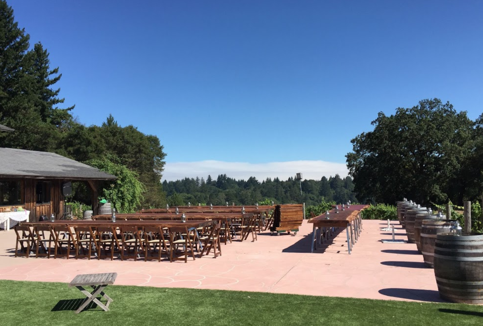 Photo #2 Private Event Space at Redwood Ridge Estate