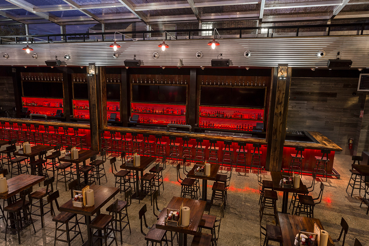 Entire Venue event space at Old Crow Smokehouse - Wrigley in Chicago, Chicagoland Area