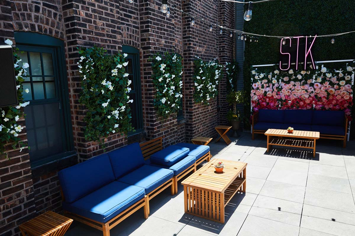 Photo #2 The Alcove Lounge  at STK Rooftop