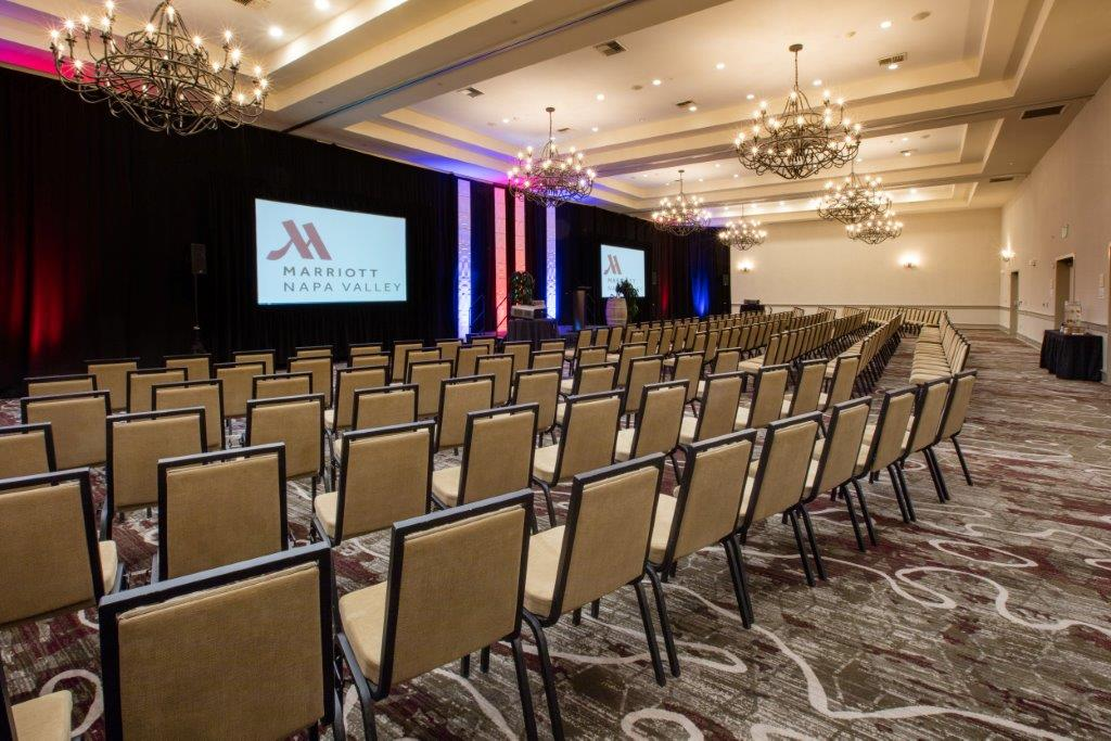Grand Ballroom event space at Napa Valley Marriott in New York City, NYC, NY/NJ Area