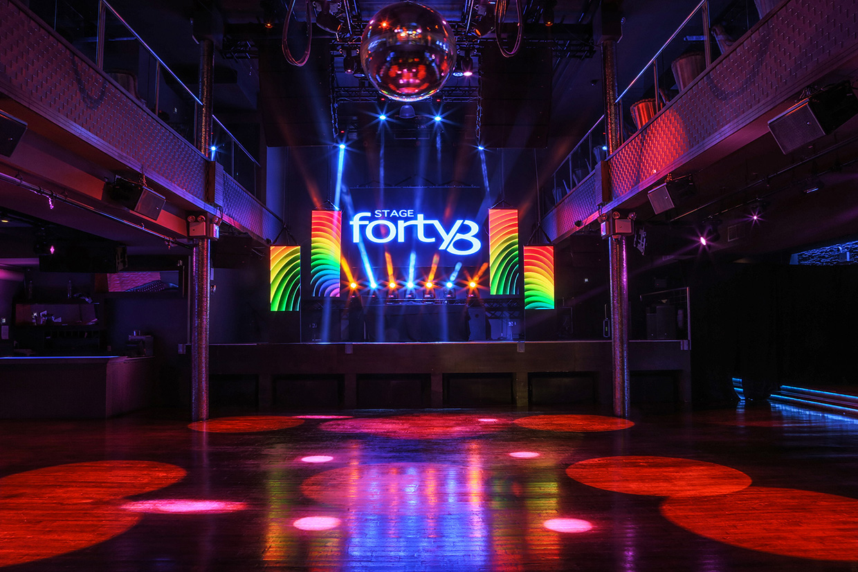 Stage 48 event space at Stage 48 in New York City, NYC, NY/NJ Area