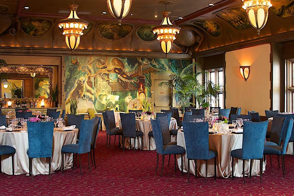 The Beluga Room event space at Farallon in San Francisco, SF Bay Area, San Fran